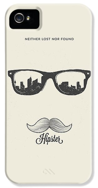 Hipster Neither Lost Nor Found IPhone 5s Case by BONB Creative