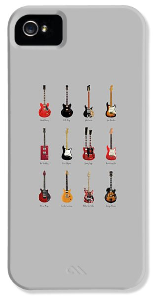 Guitar Icons No1 IPhone 5s Case by Mark Rogan