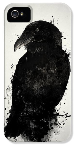 Crow iPhone 5s Case - The Raven by Nicklas Gustafsson