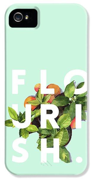 Flowers iPhone 5s Case - Flourish by Uma Gokhale