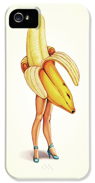 Fruit Stand - Banana IPhone 5s Case by Kelly Gilleran