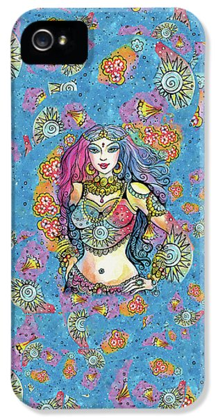 IPhone 5s Case featuring the painting Kali by Eva Campbell