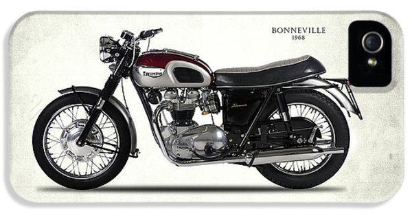 Triumph Bonneville 1968 IPhone 5s Case by Mark Rogan