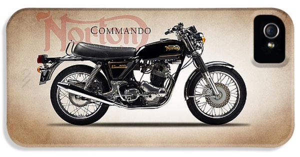 Norton Commando 1974 IPhone 5s Case by Mark Rogan