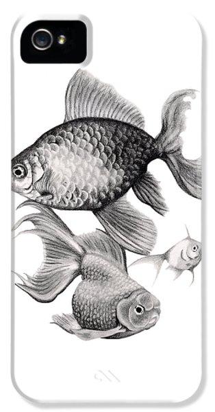 Goldfish IPhone 5s Case by Sarah Batalka