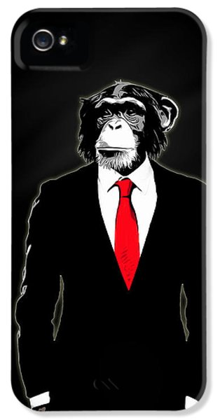 Domesticated Monkey IPhone 5s Case by Nicklas Gustafsson