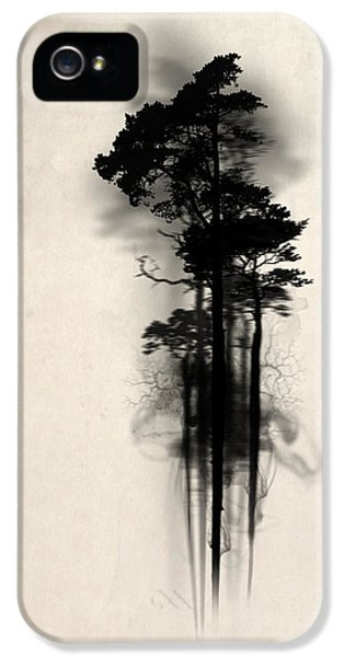 Magician iPhone 5s Case - Enchanted Forest by Nicklas Gustafsson
