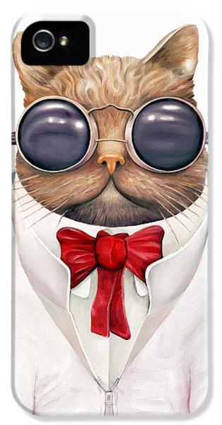 Astro Cat IPhone 5s Case by Animal Crew