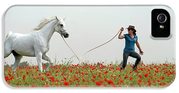 At The Poppies' Field... 2 IPhone 5s Case by Dubi Roman