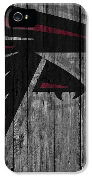 Atlanta Falcons Wood Fence IPhone 5s Case
