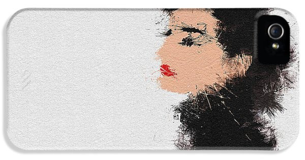 Audrey Hepburn IPhone 5s Case by Miranda Sether