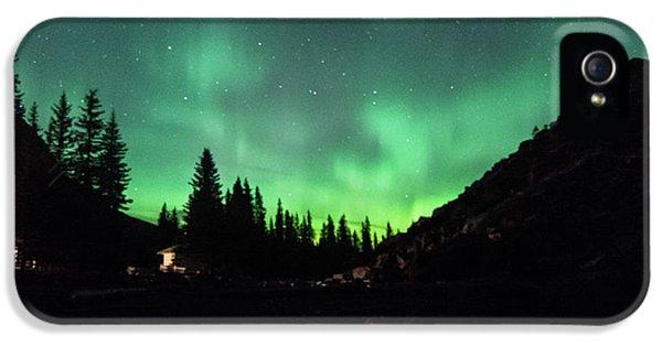 Aurora On Moraine Lake IPhone 5s Case by Alex Lapidus