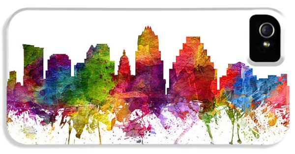Austin Cityscape 06 IPhone 5s Case by Aged Pixel