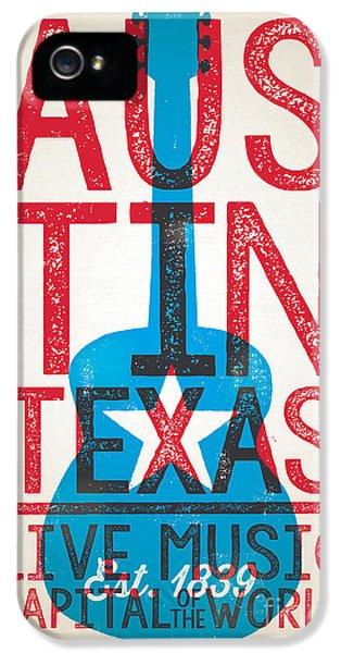 Austin Texas - Live Music IPhone 5s Case