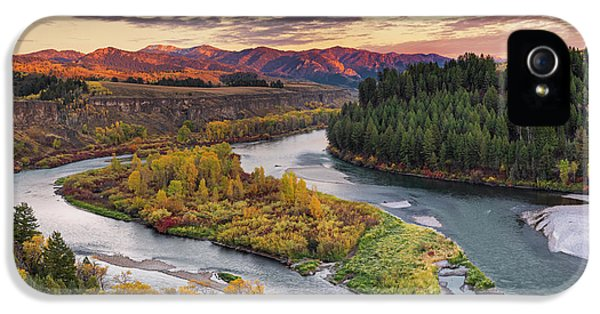 Autumn Along The Snake River IPhone 5s Case