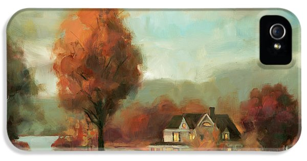 Goose iPhone 5s Case - Autumn Memories by Steve Henderson