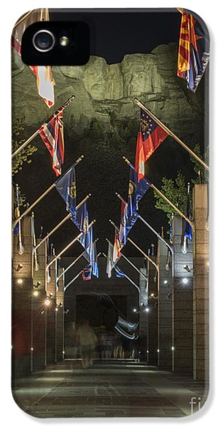 Avenue Of Flags IPhone 5s Case by Juli Scalzi