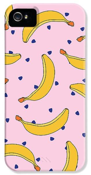 B-a-n-a-n-a-s IPhone 5s Case by Elizabeth Tuck