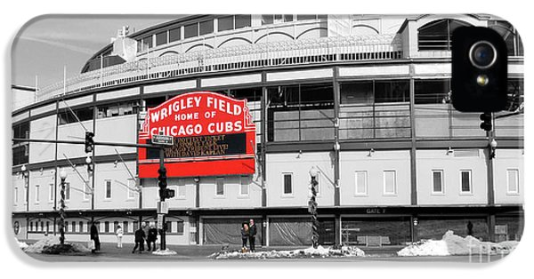 B-w Wrigley 100 Years Young IPhone 5s Case by David Bearden