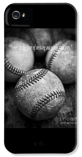 Babe Ruth Quote IPhone 5s Case