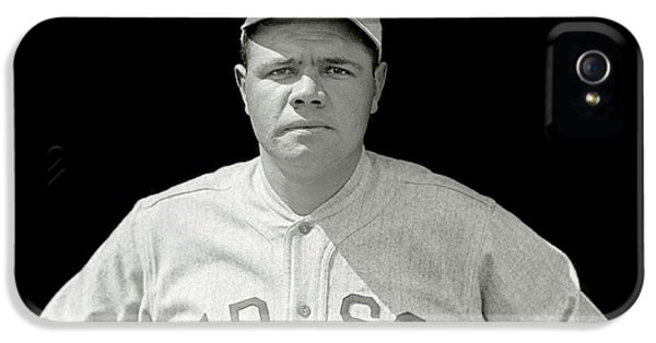 Babe Ruth Red Sox IPhone 5s Case