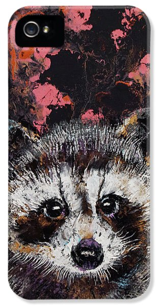 Baby Raccoon IPhone 5s Case