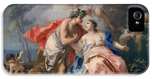 Minotaur iPhone 5s Case - Bacchus And Ariadne by Jacopo Amigoni