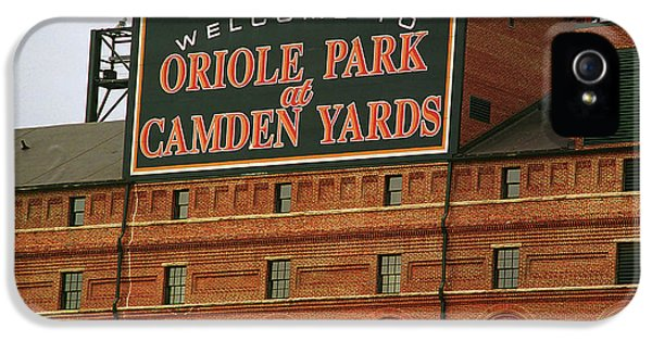 Oriole iPhone 5s Case - Baltimore Orioles Park At Camden Yards by Frank Romeo
