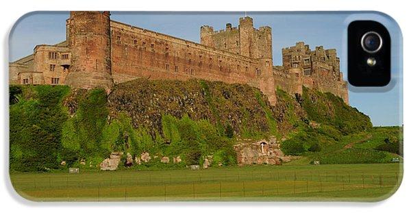 Castle iPhone 5s Case - Bamburgh Castle by Smart Aviation