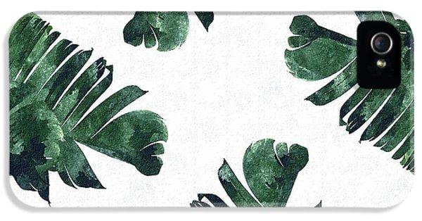 Banan Leaf Watercolor IPhone 5s Case by Uma Gokhale