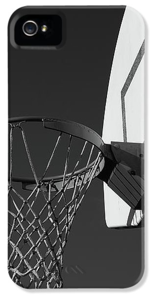 Basketball iPhone 5s Case - Basketball Court by Richard Rizzo