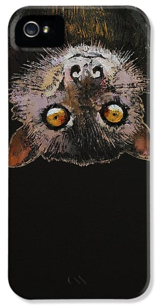 Bat IPhone 5s Case by Michael Creese