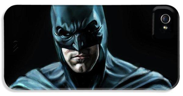 Ben Affleck iPhone 5s Case - Batman Justice League by Vinny John Usuriello