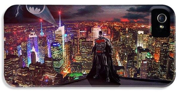 Ben Affleck iPhone 5s Case - Batman by Michael Rucker
