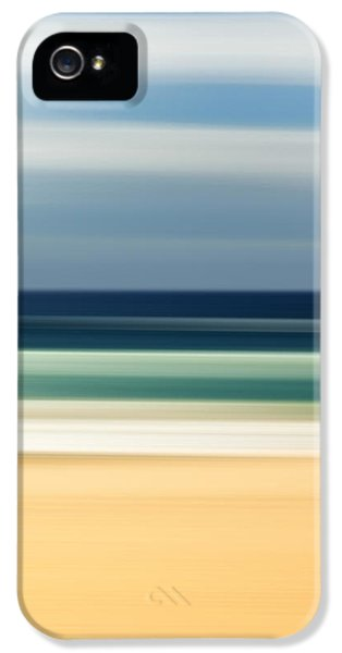 Beach iPhone 5s Case - Beach Pastels by Az Jackson