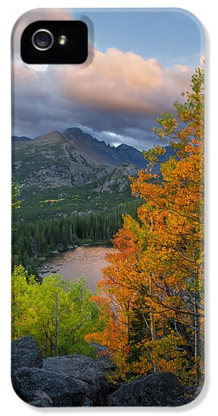 Bear Lake Autumn IPhone 5s Case by Aaron Spong