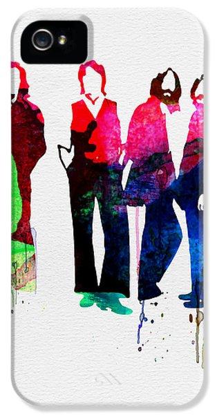 Musicians iPhone 5s Case - Beatles Watercolor by Naxart Studio