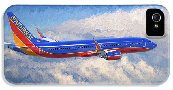 Airplane iPhone 5s Case - Beauty In Flight by Garland Johnson