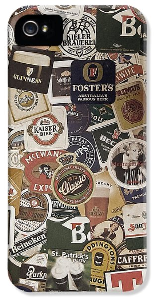 Beer iPhone 5s Case - Beers Of The World by Nicklas Gustafsson