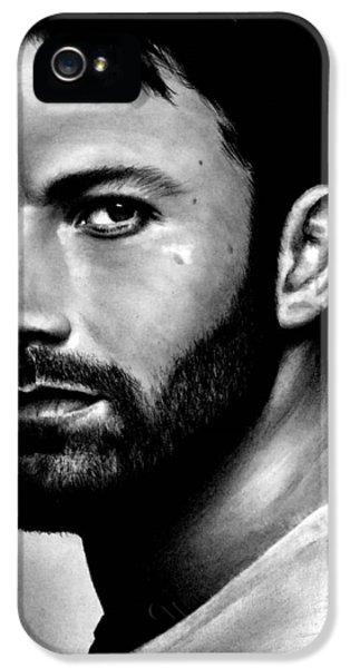 Ben Affleck iPhone 5s Case - Ben Affleck by Rick Fortson