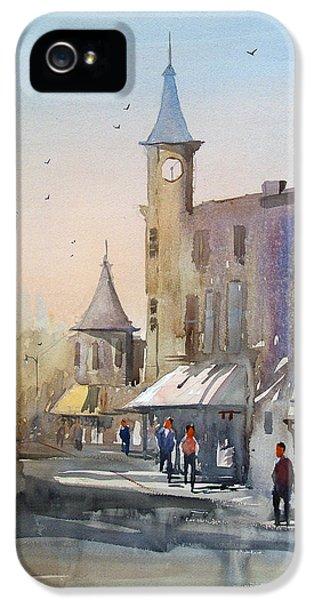 Clock iPhone 5s Case - Berlin Clock Tower by Ryan Radke