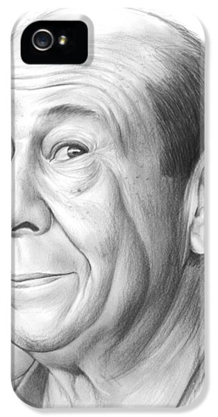 Wizard iPhone 5s Case - Bert Lahr by Greg Joens