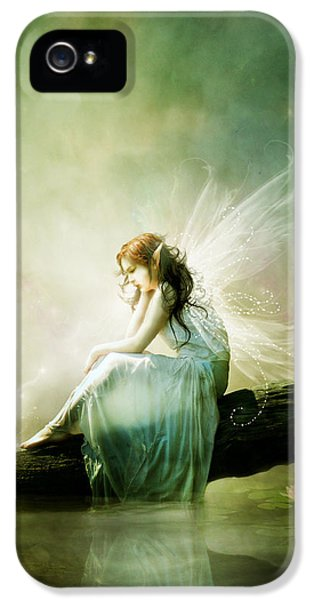 Fairy iPhone 5s Case - Best Of Friends by Karen Koski