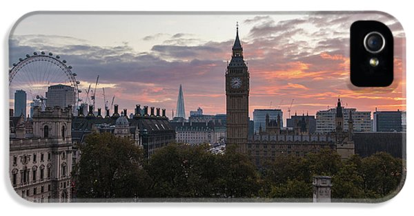 Big Ben London Sunrise IPhone 5s Case by Mike Reid