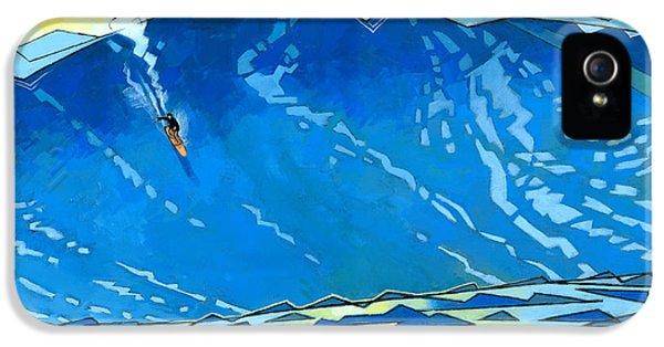 Water Ocean iPhone 5s Case - Big Wave by Douglas Simonson