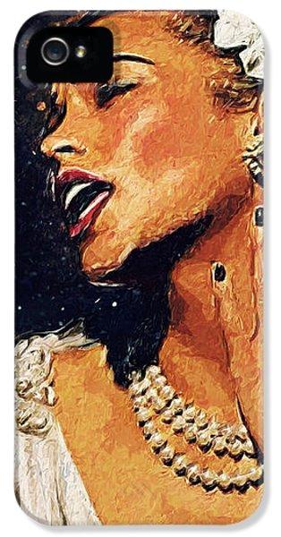 Harlem iPhone 5s Case - Billie Holiday by Zapista