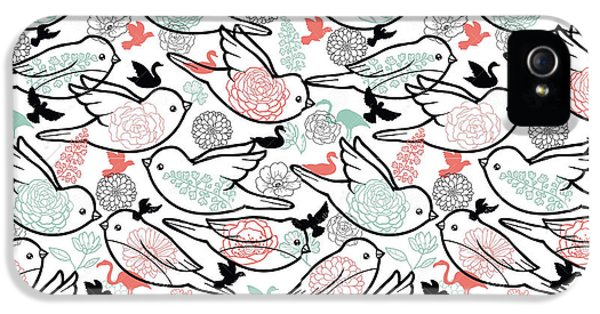 Bird Solid IPhone 5s Case by Elizabeth Taylor