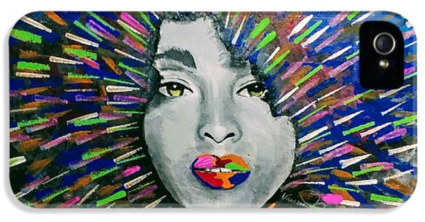 iPhone 5s Case - Black Girl Magic by Vanessa Faith