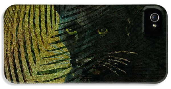 Black Panther IPhone 5s Case by Arline Wagner