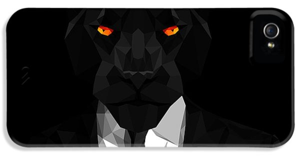 Blacl Panther IPhone 5s Case